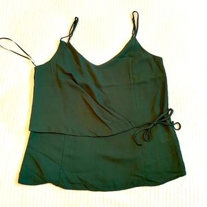 NWOT Lily White wrap tank